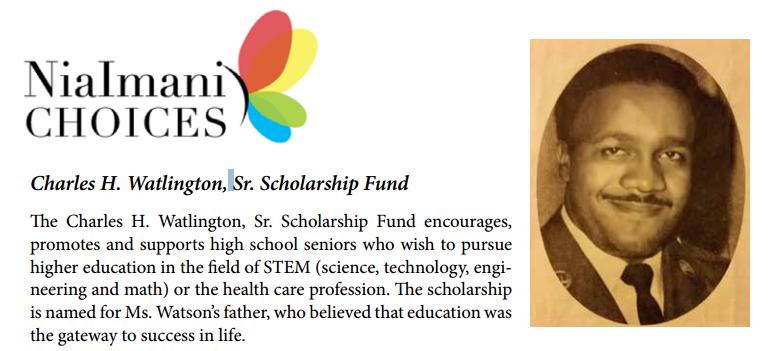 Charles H. Watlington, Sr. Scholarship Fund